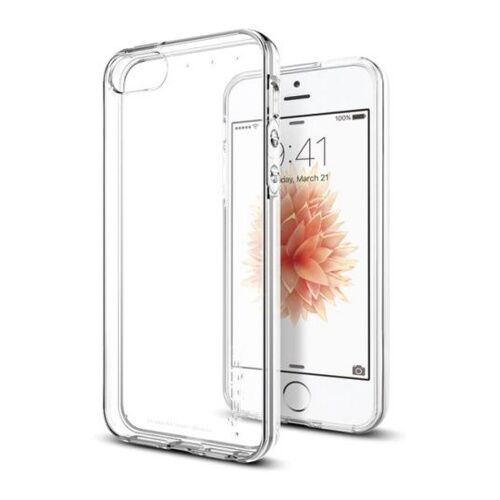 Как выглядит Чехол Spigen Case Liquid Armor для iPhone SE / 5S / 5 Clear (SGP-041CS20247)