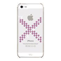 Как выглядит Чехол White Diamonds X Series для iPhone SE / 5S / 5 Pink (1210XIC41)