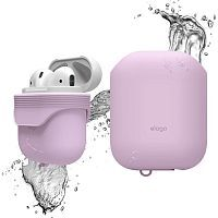 Как выглядит Чехол Elago Waterproof Case for Airpods Lavender (EAPWF-BA-LV)
