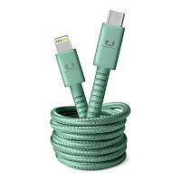 Как выглядит Кабель Fresh 'N Rebel Fabriq Cable USB-C to Lightning Misty Mint 1.5m (2CLC150MM)