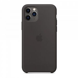 Чехол Silicone Case for iPhone 11 Pro Black