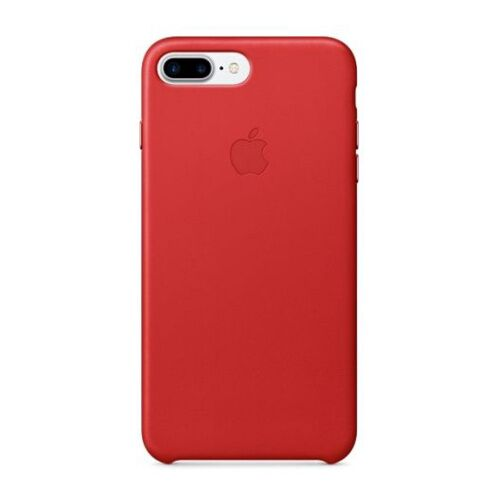 Как выглядит Чехол Apple Leather Case для iPhone 8 Plus / 7 Plus (PRODUCT)RED (MMYK2ZM/A)