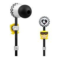 Как выглядит Наушники Monster Harajuku Lovers Wicked Style In Ear Featuring Interchangeable Faces (MNS-128691-00)