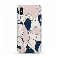 Как выглядит Чехол Pump Tender Touch для iPhone X Art Flowers (PMTTX-7/52)