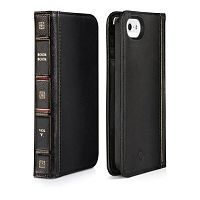 Как выглядит Чехол Twelvesouth Leather Case BookBook Classic для iPhone SE / 5S / 5 Black (TWS-12-1233)