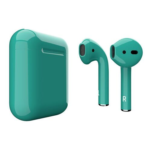 Как выглядит AirPods 2 Colors Marrs Green Gloss (MV7N2)