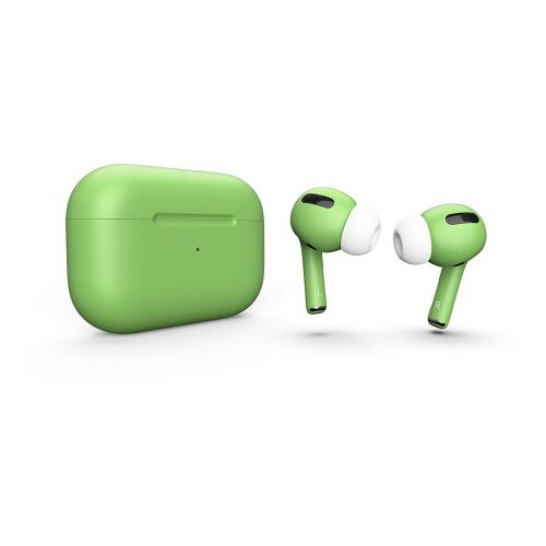 Как выглядит AirPods Pro Colors Green Matte (MWP22)
