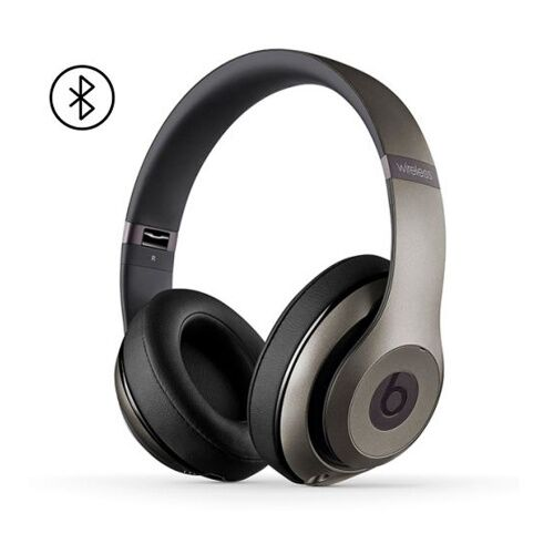 Как выглядит Наушники Beats Studio 2 Wireless Over-Ear Headphones Titanium (MHAK2)