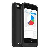 Как выглядит Чехол Mophie Space Pack 32 GB 3300 mAh для iPhone 6S / 6 Black (3001-SP-IP6-32GB-BLK)