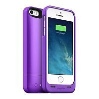 Как выглядит Чехол Mophie Juice Pack 1500 mAh для iPhone SE / 5S / 5 Helium Purple (2543-JPH-IP5-PRP-I)