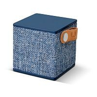 Как выглядит Fresh 'N Rebel Rockbox Cube Fabriq Edition Bluetooth Speaker Indigo (1RB1000IN)