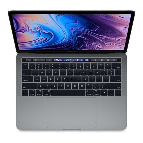 "Как выглядит MacBook Pro 13"" TB Touch ID / QC i5 2.3GHz / 8GB / 256Gb / IrisPlus 655 / Space Grey, middle 2018 (MR9Q2)"