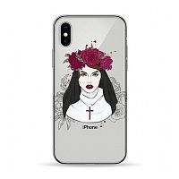Как выглядит Чехол Pump Transperency Case for iPhone X Flowers Religion (PMTRX-7/83)