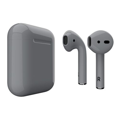 Как выглядит AirPods 2 Colors Gray Gloss (MV7N2)