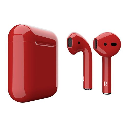 Как выглядит AirPods 2 Colors Aurora Red Gloss (MV7N2)