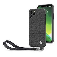 Как выглядит Чехол Moshi Altra Slim Case with Wrist Strap for iPhone 11 Pro Max  Shadow Black  (99MO117006)