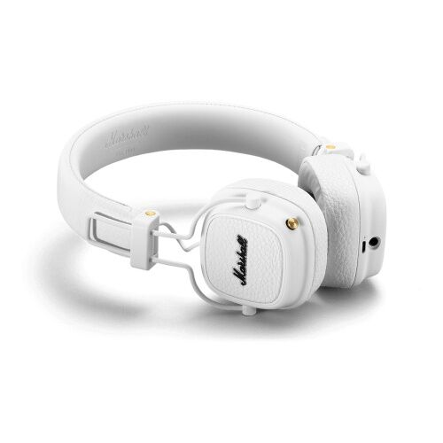 Как выглядит наушники marshall headphones major iii bluetooth white (4092188)