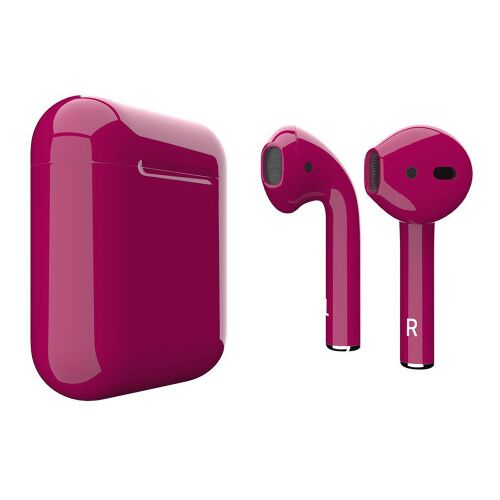 Как выглядит AirPods 2 Colors Crimson Gloss (MV7N2)