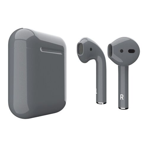 Как выглядит AirPods 2 Colors Space Gray Gloss Metal (MV7N2)