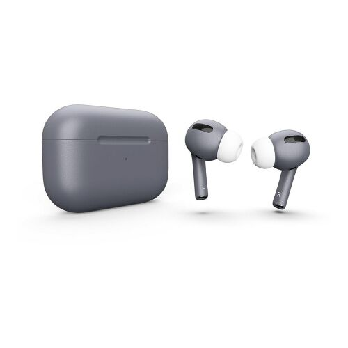 Как выглядит AirPods Pro Colors Silver Plate Matte Metal (MWP22)