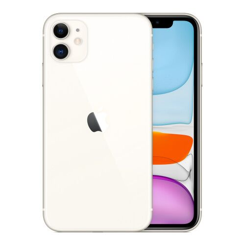 Как выглядит iPhone 11 128GB White Slim Box (MWM22)