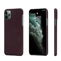 Чехол Pitaka MagCase for iPhone 11 Pro Max Black/Red (KI1103M)