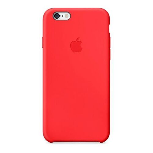 Как выглядит Чехол Apple Silicone для iPhone 6S / 6 Red (MGQH2ZM/A)