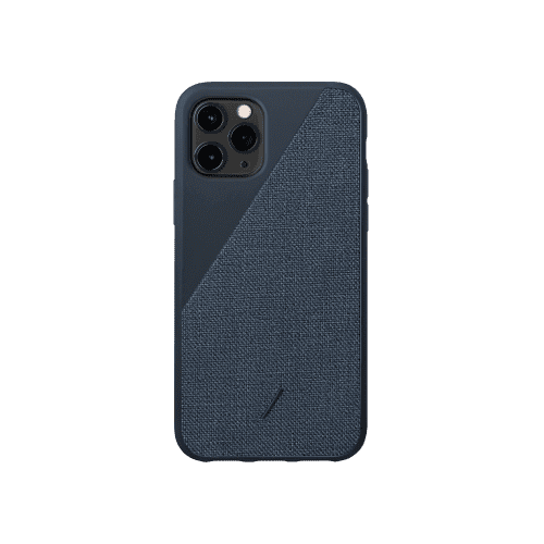 Как выглядит Native Union Clic Canvas Case for iPhone 11 Pro Indigo (CCAV-IND-NP19S)