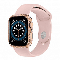 Как выглядит Apple Watch Series 6 Edition 40mm 14-Karat Gold Case with Pink Sport Band
