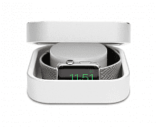 Amber Apple Watch Charging Case & Power Bank Silver 3800 mAh