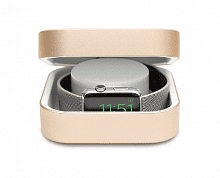 Amber Apple Watch Charging Case & Power Bank Gold 3800 mAh