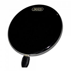 Беспроводное зу XO Fast Wireless Charger Black (WX001)