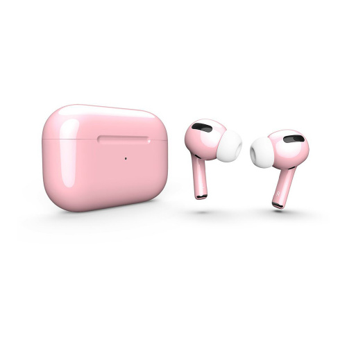 Как выглядит AirPods Pro Colors Strawberry Cream Gloss (MWP22)